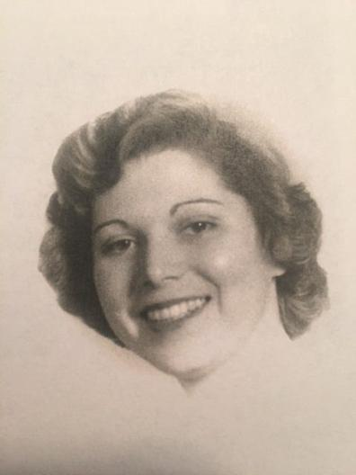 Audrey Marans Sternberg in the Cornell Law School yearbook in 1950.