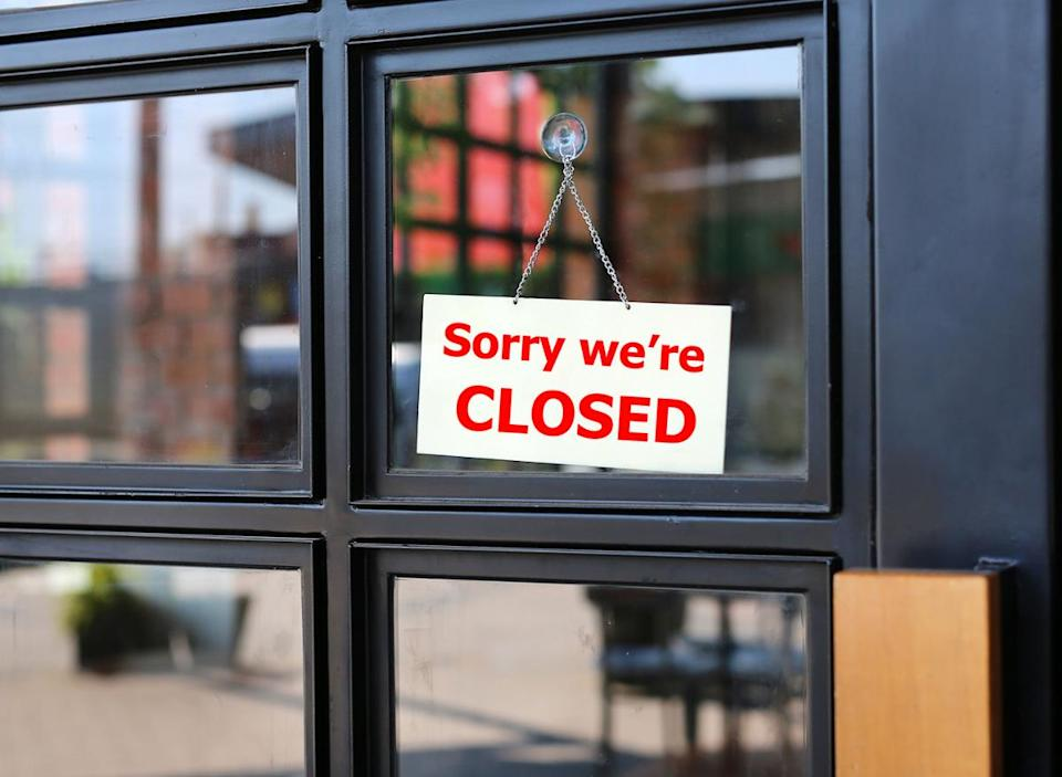 closed grocery store