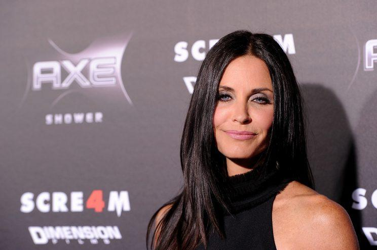 <i>Courteney Cox is dissolving all her fillers in a bid to look more natural [Photo: Getty]</i>