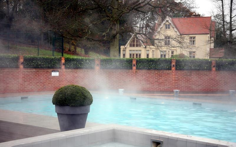Maison Talbooth, Essex - one of Britain's best hotels with outdoor pools