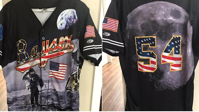 The Bowie Baysox, the Orioles Double-A affiliate, are wearing uniforms for 50th Moon Landing Anniversary, and they are out fo this world.