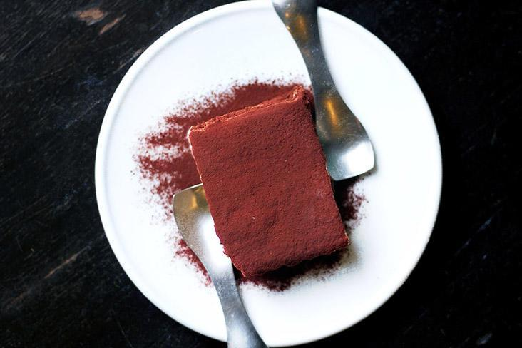 """This """"We Miss You"""" tiramisù is inspired by memories of Italy and a sense of belonging. – Pictures by CK Lim"""