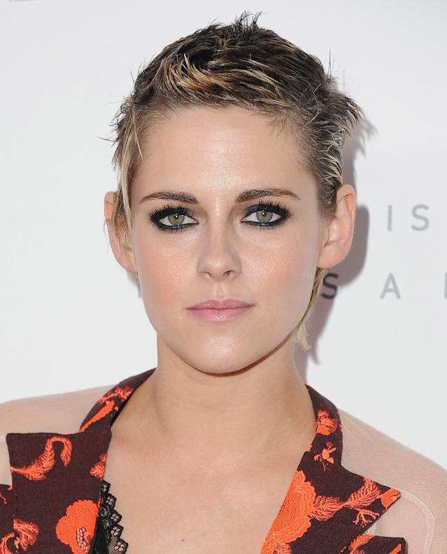Kristen Stewart at Elle's 24th Annual Women in Hollywood Celebration. (Photo: Getty Images)