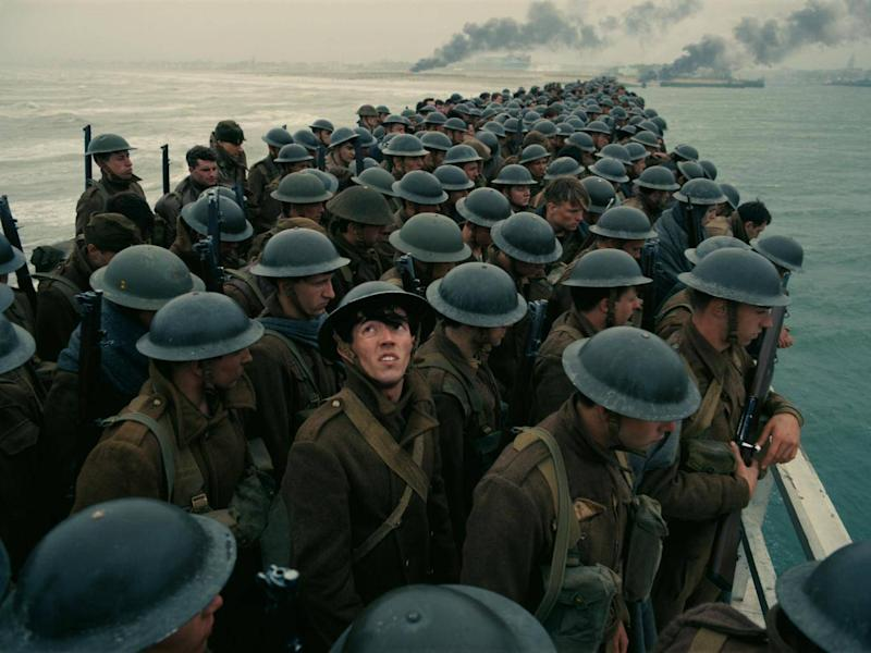 For 'Dunkirk' it was Christopher Nolan's failure to put in any soldiers from the Commonwealth that came under fire, as well as the some French critics arguing that their troops were not shown on screen (Rex)