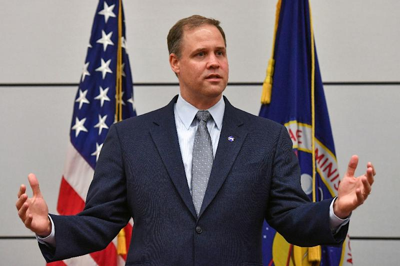 NASA Administrator Jim Bridenstine in a file image the US space agency's Kepler space telescope has run out of fuel and is being retired after nine years