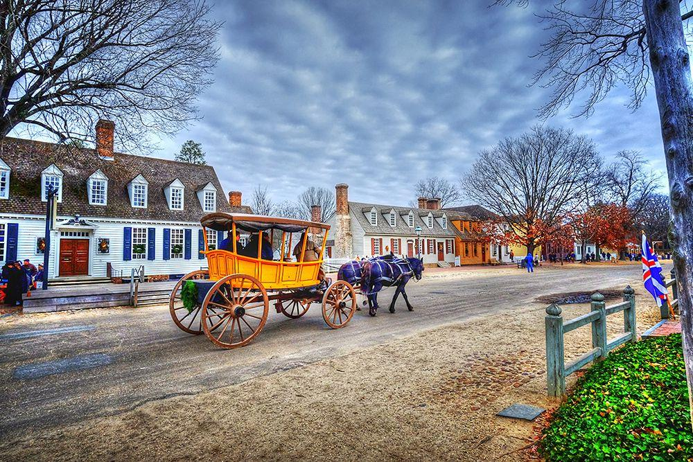 """<p>In the heart of <a rel=""""nofollow"""" href=""""https://www.tripadvisor.com/Tourism-g58313-Williamsburg_Virginia-Vacations.html"""">Williamsburg, Virginia</a> is Colonial Williamsburg, where actors dress up from the time period of the American Revolution and show off what daily life was like during the late 1700s. <a rel=""""nofollow"""" href=""""https://www.womansday.com/life/a58297/horse-riding-may-improve-child-intelligence/"""">You'll see horses</a>, red coats, muskets, and many different jobs (that you won't see today!) around town.</p>"""