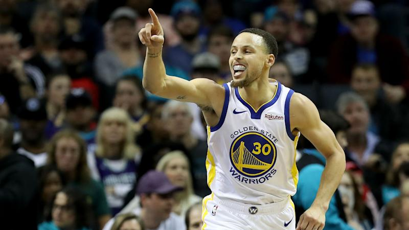 200d2e96212d Warriors showed full potential in Hornets thrashing - Curry