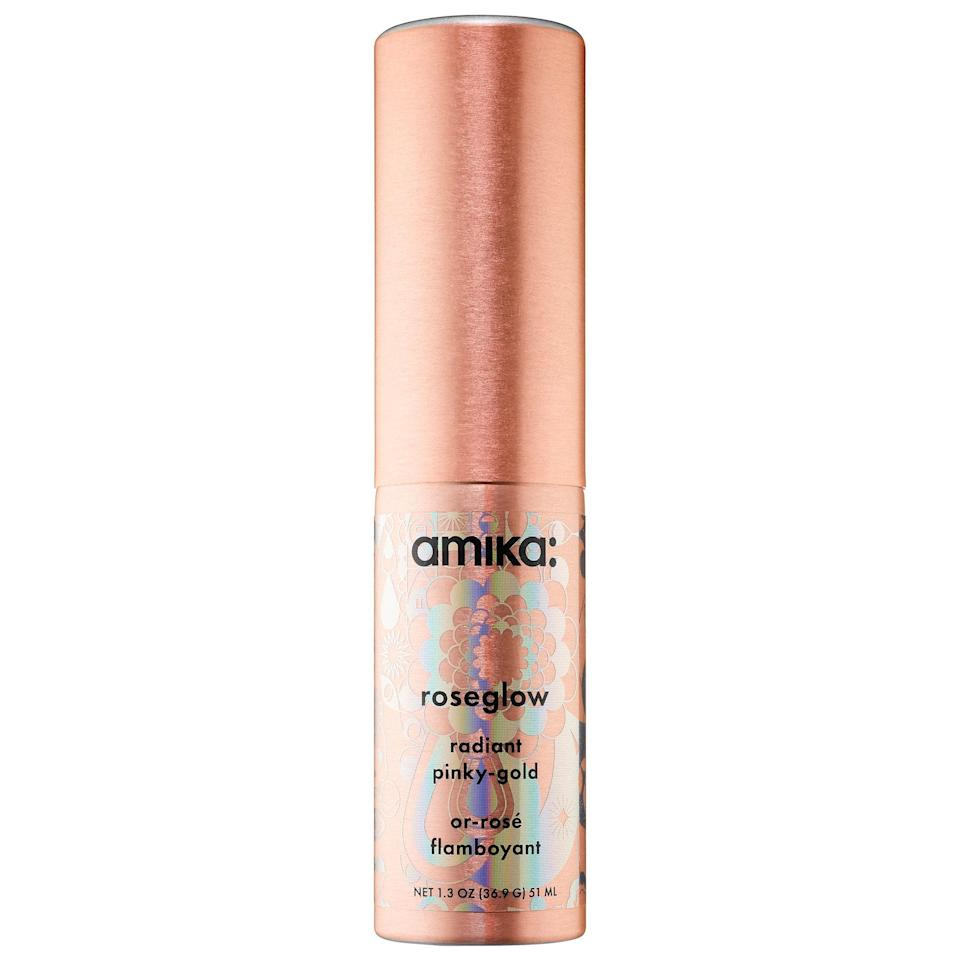 "<h3>Amika Desert Trip Temporary Hair Color Spray</h3><br>One shampoo washes this temporary rose-gold color all the way out of your hair, making it the no-damage, no-commitment way to dye your hair pink — just for fun (and the 'gram).<br><br><strong>Amika</strong> Desert Trip Temporary Hair Color Spray, $, available at <a href=""https://go.skimresources.com/?id=30283X879131&url=https%3A%2F%2Fwww.sephora.com%2Fproduct%2Famika-desert-trip-temporary-color-spray-P456165%3FskuId%3D2333409%26om_mmc%3Dppc-GG_1165716899_53825939980_pla-419303076360_2333409_257731950176_1019109_c%26country_switch%3Dus%26lang%3Den%26ds_rl%3D1261471%26gclid%3DEAIaIQobChMI3p7qsL_A6QIVDdvACh3U0QZSEAQYCyABEgL1FvD_BwE%26gclsrc%3Daw.ds"" rel=""nofollow noopener"" target=""_blank"" data-ylk=""slk:Sephora"" class=""link rapid-noclick-resp"">Sephora</a>"