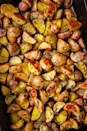 """<p>Is there anything better than a perfectly roasted potato? The test kitchen can devour a large pan of them like it's nothing and feel no shame.</p><p>Get the <a href=""""https://www.delish.com/uk/cooking/recipes/a28786247/herb-roasted-potatoes/"""" rel=""""nofollow noopener"""" target=""""_blank"""" data-ylk=""""slk:Herb Roasted Potatoes"""" class=""""link rapid-noclick-resp"""">Herb Roasted Potatoes</a> recipe</p>"""