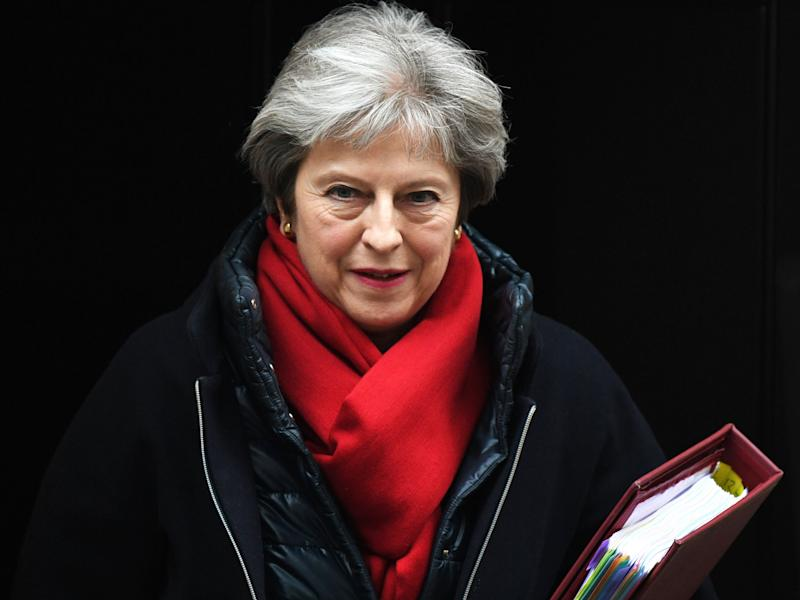 May can still credibly claim that her feminist credentials run deeper than a T-shirt: EPA