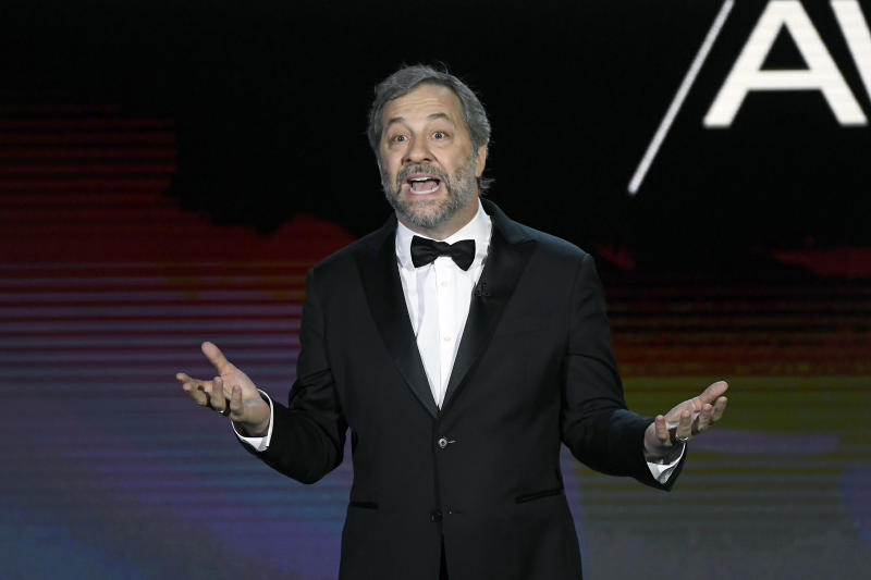 Judd Apatow speaks onstage during the 72nd Annual Directors Guild Of America Awards on January 25, 2020. (Photo by Kevork Djansezian/Getty Images)
