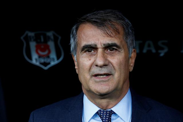 Soccer Football - Super Lig - Besiktas vs Osmanlispor - Vodafone Arena, Istanbul, Turkey - December 17, 2017 Besiktas coach Senol Gunes before the match REUTERS/Murad Sezer