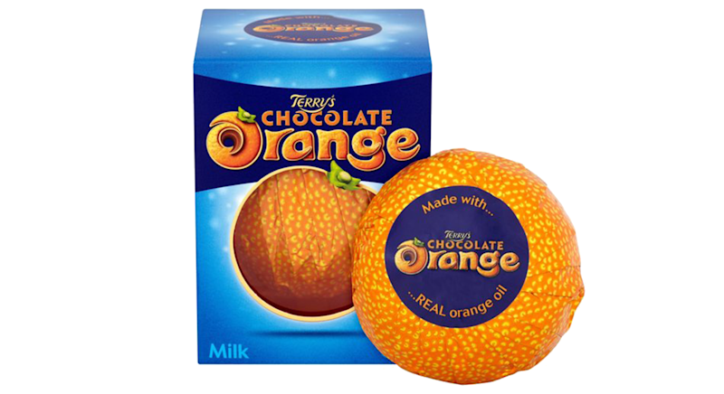 Terry's Chocolate Orange Milk Chocolate Box is only 75p at Tesco [Photo: Tesco]