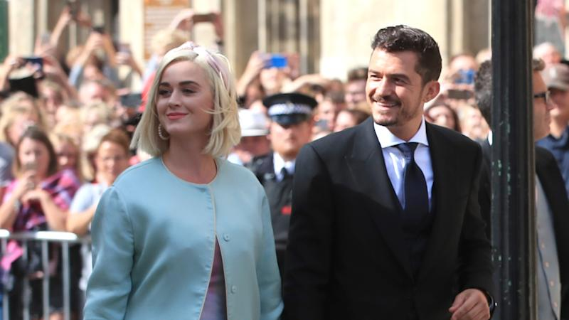 Orlando Bloom shares sweet photo of 'blooming' pregnant fiance Katy Perry