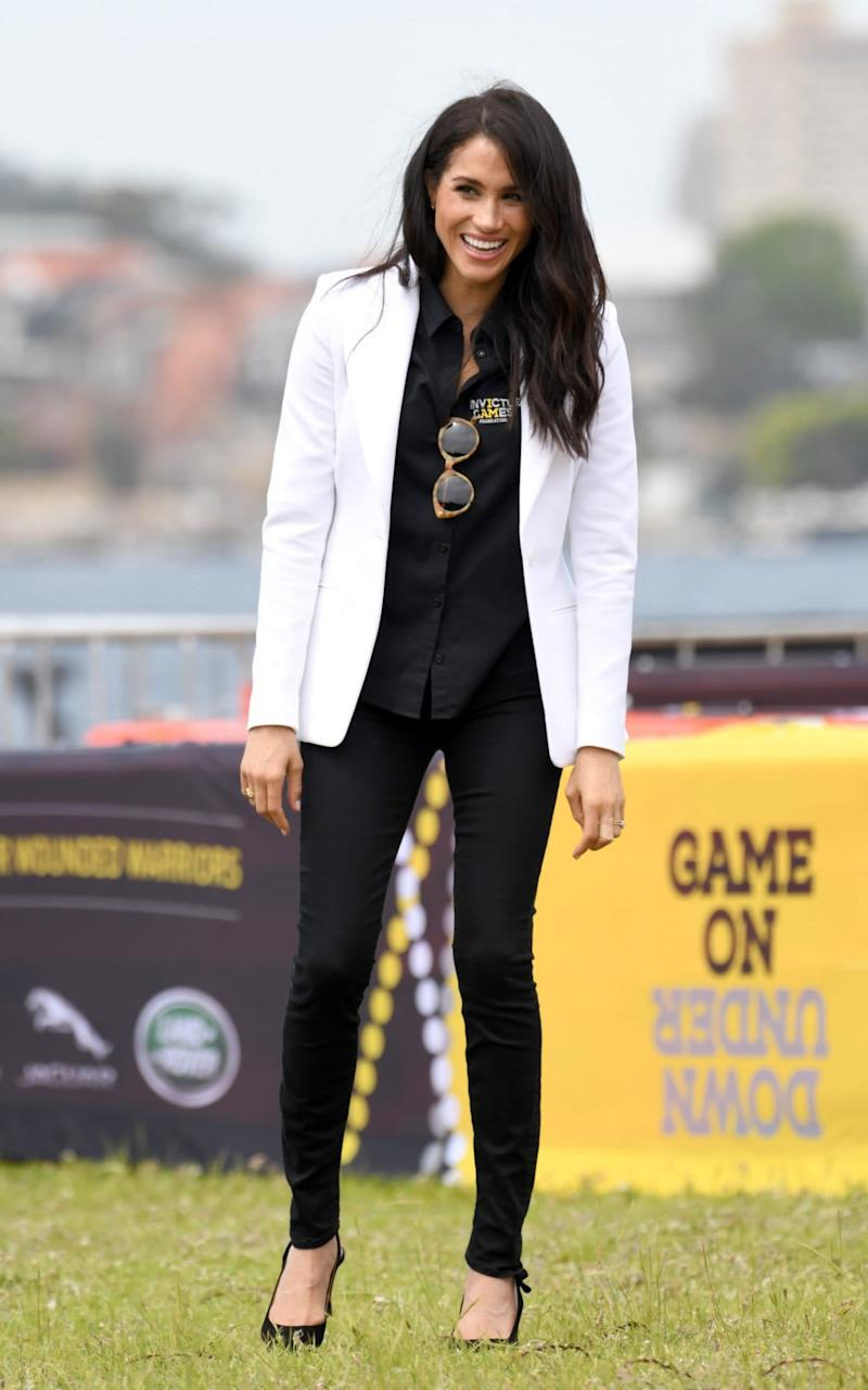 The Duchess of Sussex attends the Invictus Games in Sydney. - WireImage
