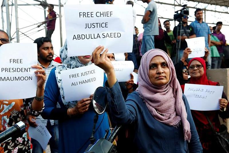 Maldives Seeks Foreign Help to Investigate Arrested Judges&apos Wealth Envoy