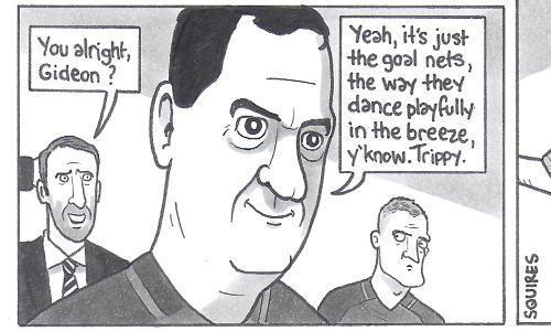 David Squires on … Germany v England and other business