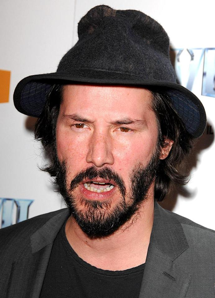 "I miss Keanu Reeves' glory days, don't you? Steve Granitz/<a href=""http://www.wireimage.com"" target=""new"">WireImage.com</a> - April 7, 2009"