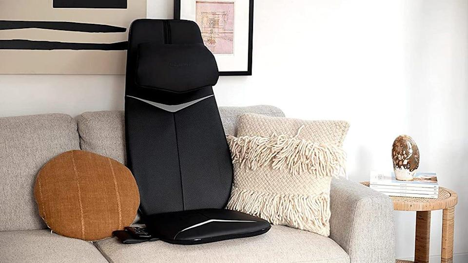 You can get this Zyllion chair massager and more of the brand's electric relaxation devices for comfy discounts at Amazon today.