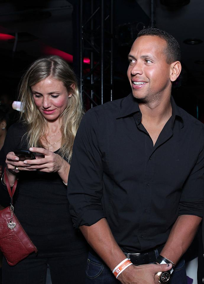 "According to the <i>National Enquirer</i>, Alex Rodriguez is furious about the close friendship between his girlfriend Cameron Diaz and her ex, Justin Timberlake. The mag says A-Rod is ""insanely jealous"" and ""insecure"" over the closeness between his girlfriend and Timberlake, who star together in ""Bad Teacher."" Rodriguez has even had serious ""temper tantrums"" because of the co-stars' bond. For how tense things have gotten, see what a Rodriguez buddy exclusively shares with <a href=""http://www.gossipcop.com/alex-rodriguez-jealous-justin-timberlake-cameron-diaz/"" target=""new"">Gossip Cop</a>. Tiffany Rose/<a href=""http://www.gettyimages.com/"" target=""new"">GettyImages.com</a> - February 5, 2011"