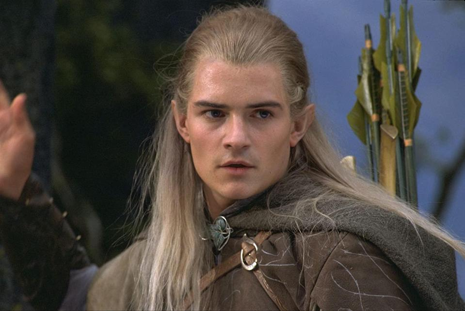 Orlando Bloom doesn't want to know anything about Amazon's take on Tolkien's tome (Image by New Line Cinema)