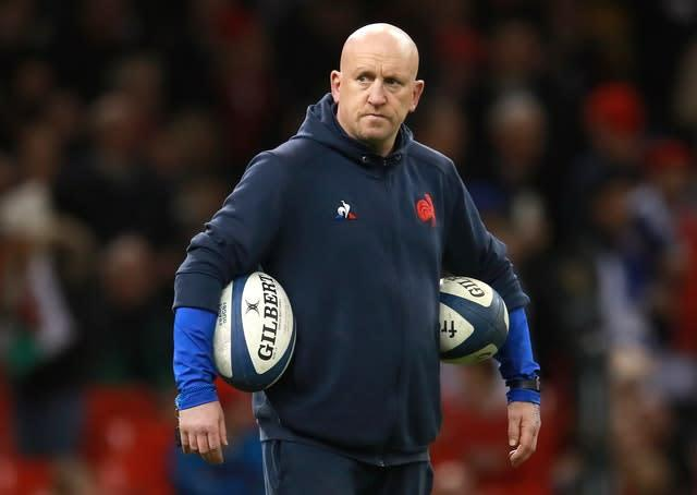 France defence coach Shaun Edwards (Adam Davy/PA Wire)