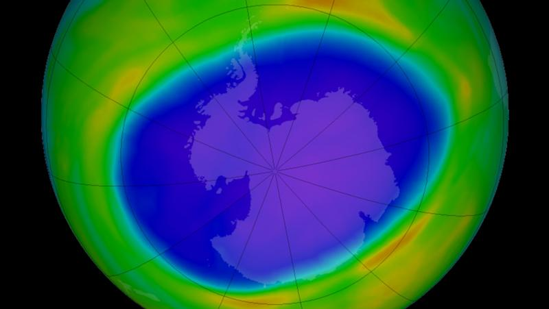 2020 Antarctic Ozone Hole is one of the largest in recent years