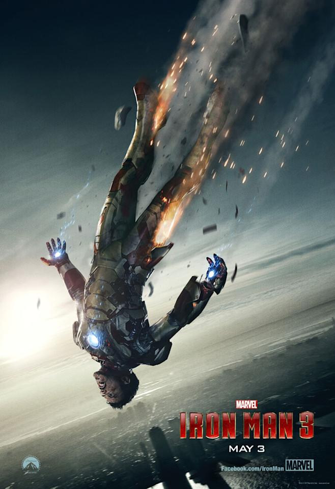 "Robert Downey Jr. stars as Tony Stark in Marvel Studios' ""Iron Man 3"" - 2013"
