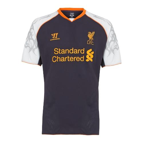 buy popular 68273 0885c Liverpool's new third kit is purple and has a tribal sleeve ...