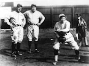 """<p><strong>April 2, 1931</strong>: Seventeen-year-old Jackie Mitchell, a pitcher for the minor-league Chattanooga Lookouts, struck out Babe Ruth and Lou Gehrig on a total of seven pitches in an exhibition game. """"What made the event noteworthy is that Mitchell was a girl playing on a man's team,"""" says Joseph Wallace, author of <em><a href=""""https://www.amazon.com/dp/B003JH867A/?tag=syn-yahoo-20&ascsubtag=%5Bartid%7C10054.g.28170941%5Bsrc%7Cyahoo-us"""" rel=""""nofollow noopener"""" target=""""_blank"""" data-ylk=""""slk:Diamond Ruby"""" class=""""link rapid-noclick-resp"""">Diamond Ruby</a></em>, a novel inspired by Jackie Mitchell's story, """"a widely publicized feat that came to an end just a few days later when Mitchell—and all women—were banned from playing on men's professional teams.""""<br> </p>"""