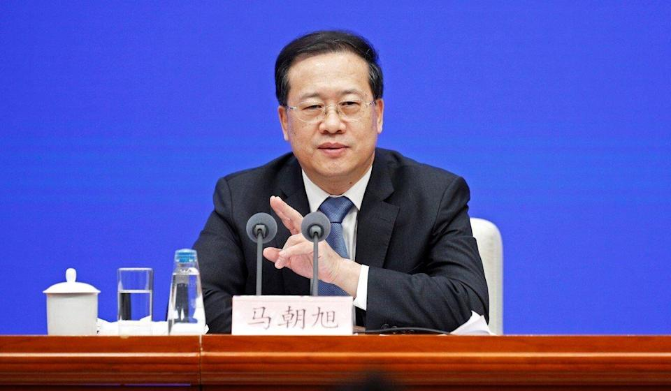 Chinese foreign vice-minister Ma Zhaoxu has been named as a potential next ambassador to Washington. Photo: Reuters