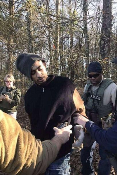 PHOTO: In this photo posted to the Mississippi Department of Corrections Facebook page, Dillon Williams is shown being arrested. (Mississippi Department of Corrections/Facebook)