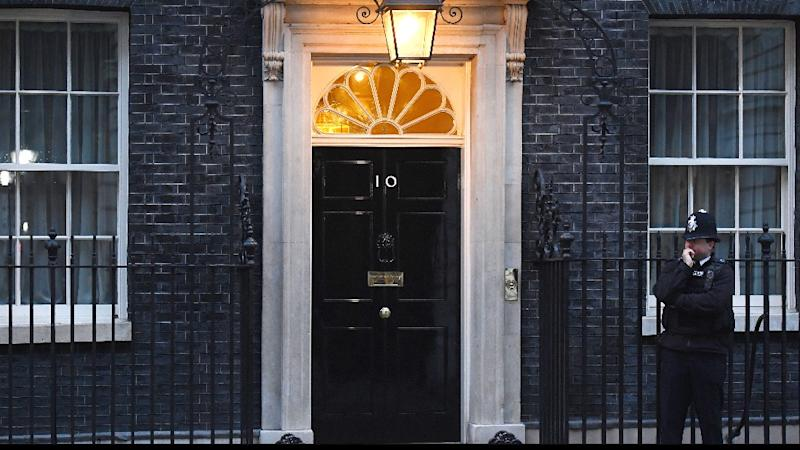 Man Carrying Knives Arrested Near UK PM's Residence