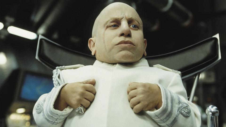 Verne Troyer played the role of Mini-Me in two of the three 'Austin Powers' films. (Credit: New Line Cinema)