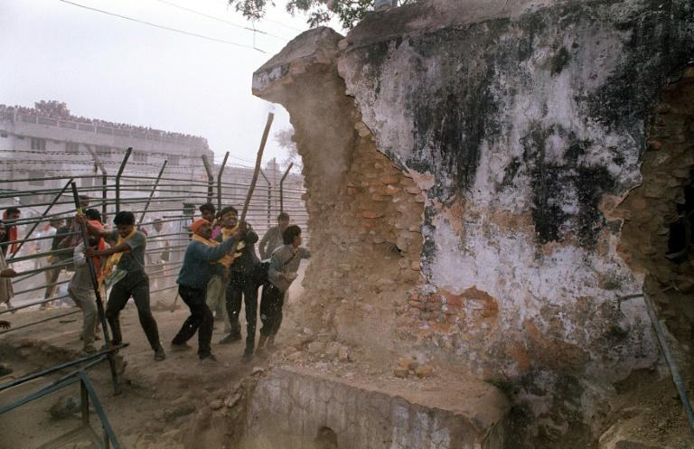 The demolition of the 16th century Babri mosque in 1992 marked the culmination of a virulent campaign led by the now ruling Bharatiya Janata Party (BJP)