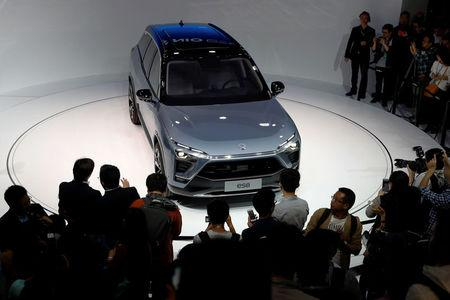 NIO unveils all-electric seven-seater ES8 SUV