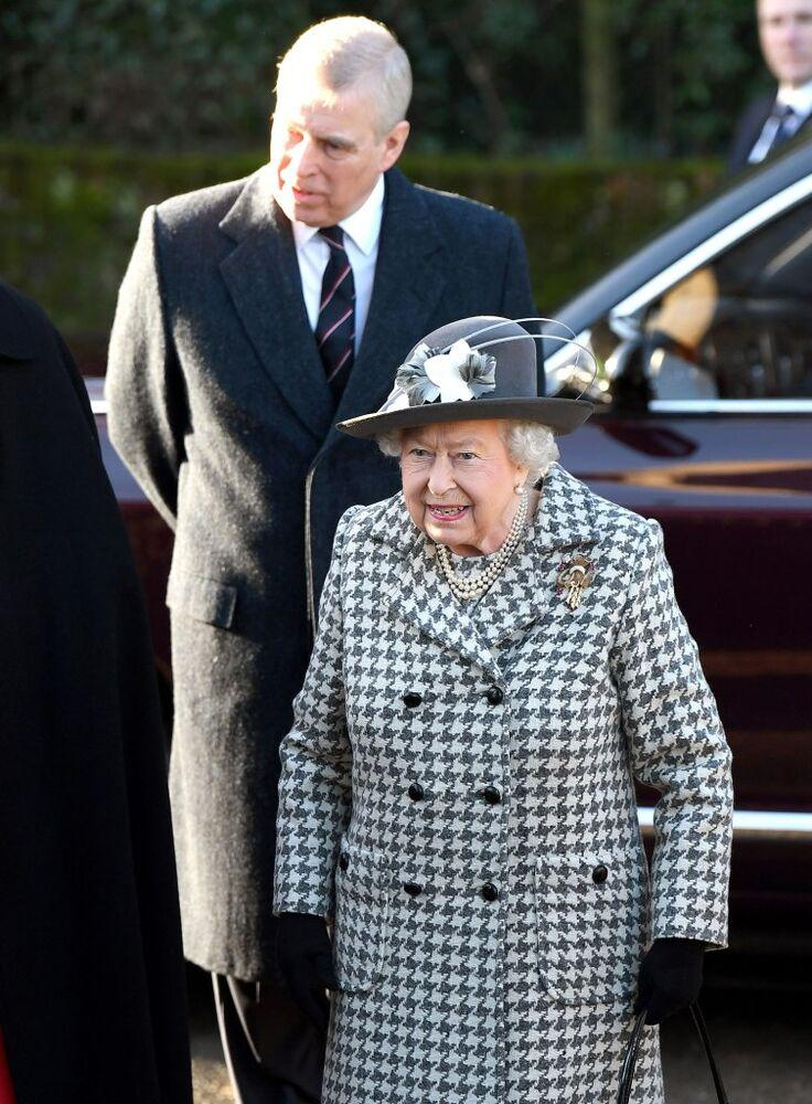 Queen Elizabeth II and Prince Andrew | Karwai Tang/WireImage
