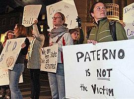 Not all Penn State students thought Joe Paterno was treated unfairly