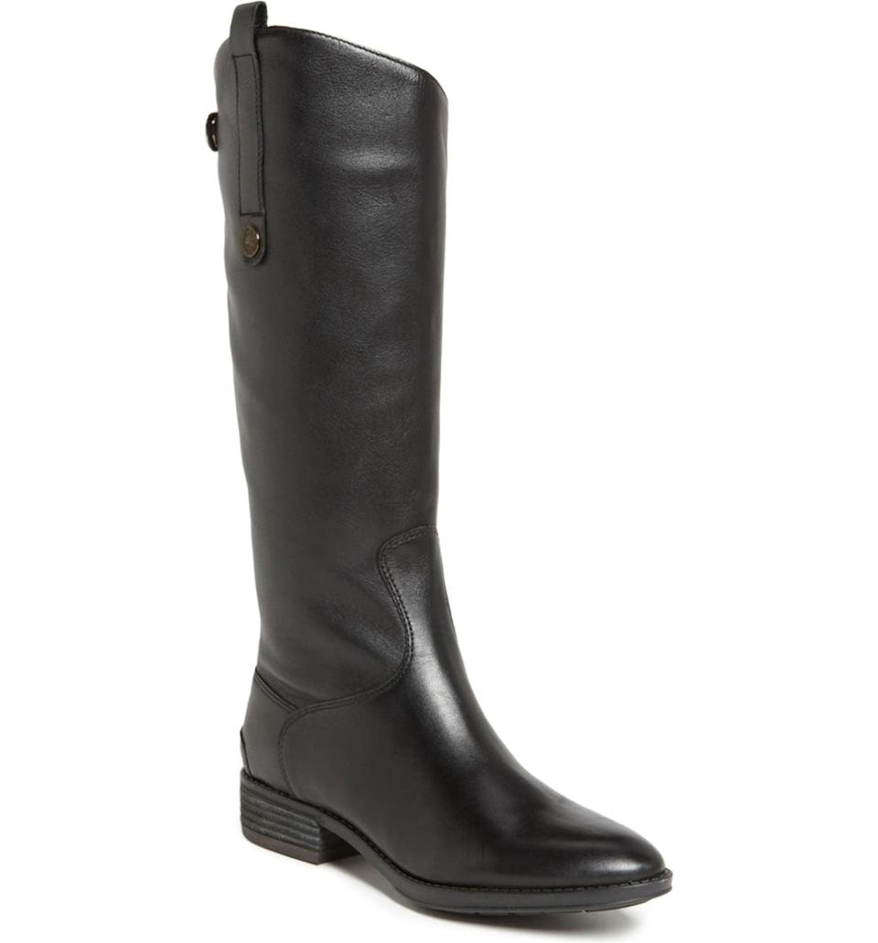 <p>Equestrian fashion is also making a comeback, and these <span>Sam Edelman Penny Boots</span> ($190) are elegant and useful.</p>