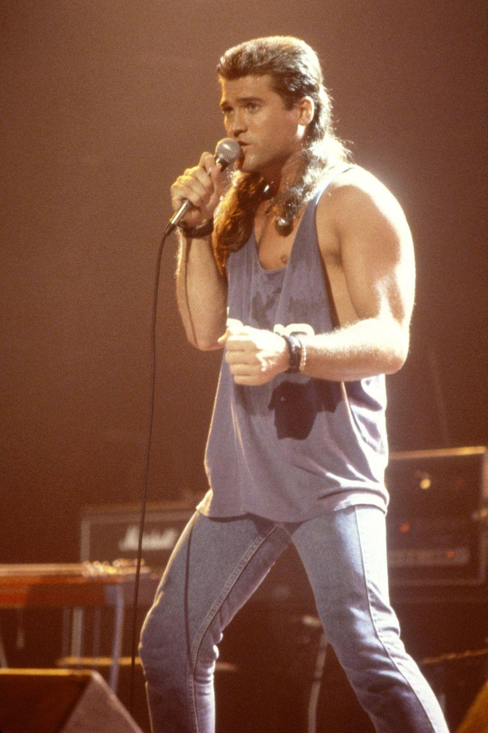 <p>Another example of why the mullet should never come back.</p>