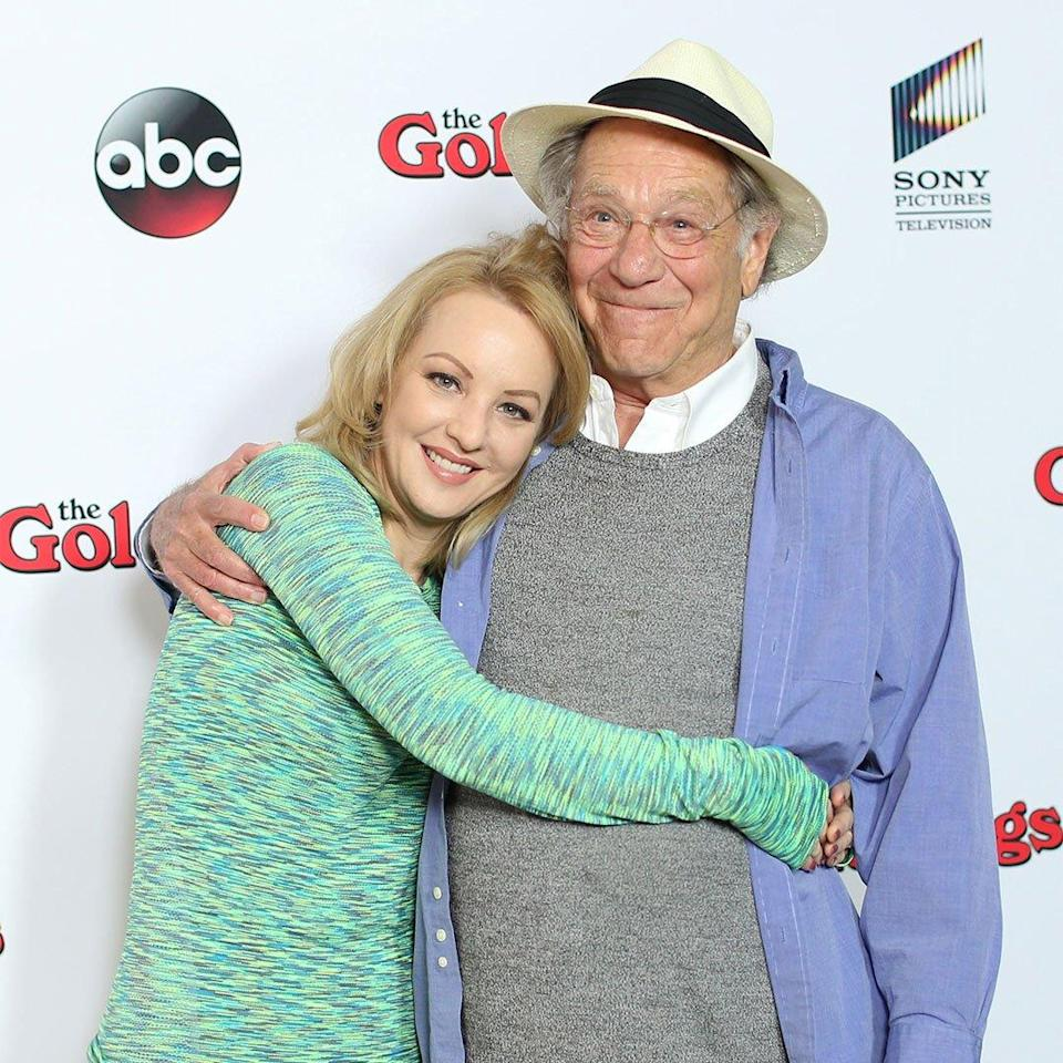 Wendi McLendon-Covey and actor George Segal