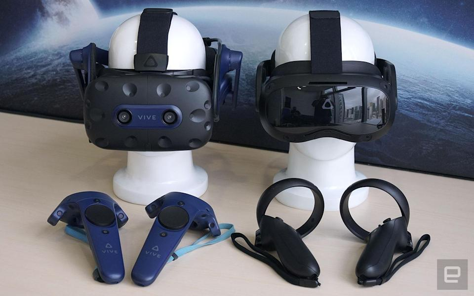 HTC Vive Pro 2 and Vive Focus 3