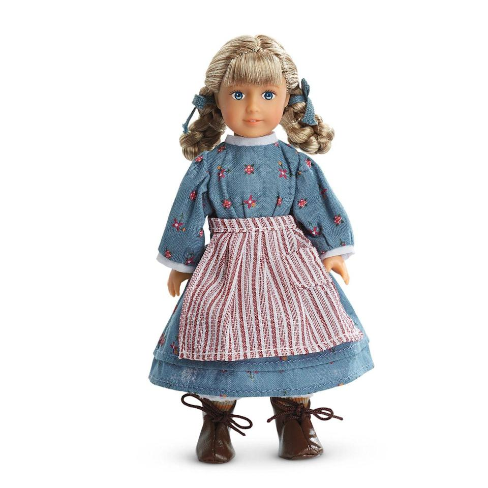 <p>One of the first three dolls produced by American Girl in 1986, Kirsten Larson is a Swedish immigrant whose family moves to Minnesota Territory in 1854. Kirsten's challenge is having to learn to speak English and adjust to life in America. Cool-cool-cool.<br></p>