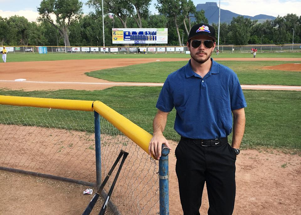 When there weren't enough umpires available, Sean Kiley was called into duty. (Sean Kiley)