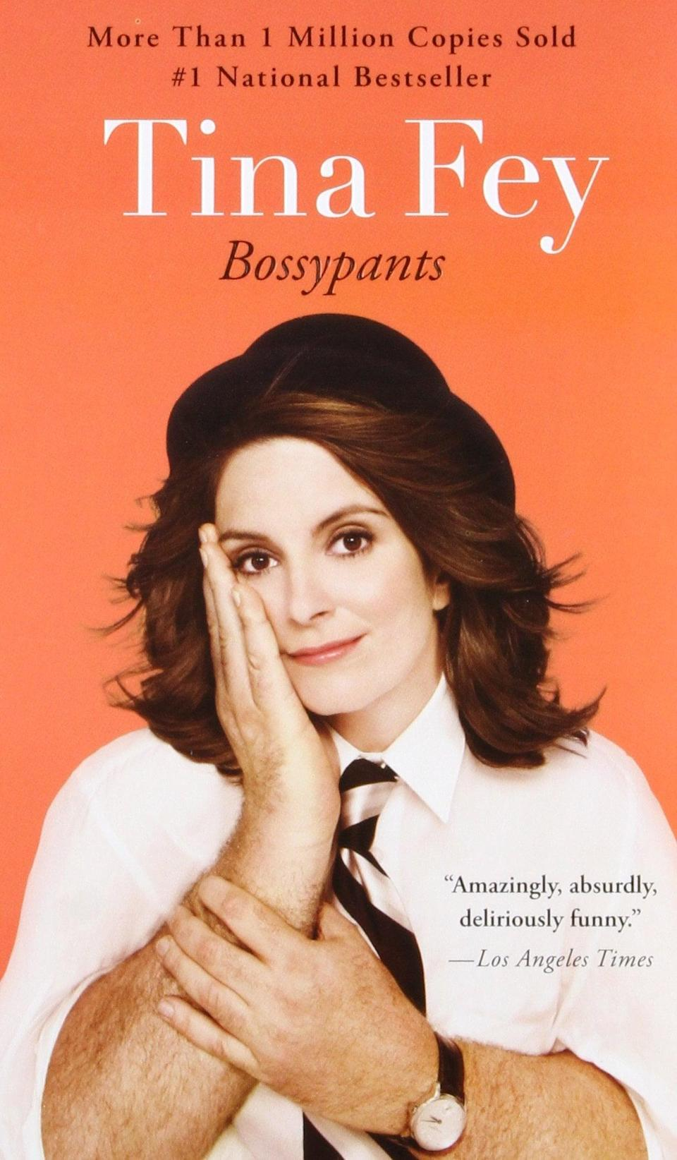 """<p>""""My comfort read is <span><b>Bossypants</b></span> ($11) by <a class=""""link rapid-noclick-resp"""" href=""""https://www.popsugar.co.uk/Tina-Fey"""" rel=""""nofollow noopener"""" target=""""_blank"""" data-ylk=""""slk:Tina Fey"""">Tina Fey</a>. I don't usually like to re-read books but I can't help but revisit this every few years. Sometimes if I'm having a particularly rough day, I'll pick it up to read a couple of chapters and it never fails to make me feel better. The chapter titled 'I Don't Care If You Like It' has one of my favorite quotes of all time that I tend to repeat to myself basically every day: 'Do your thing and don't care if they like it.'"""" - Kelsey Kennick, senior manager, commerce</p>"""