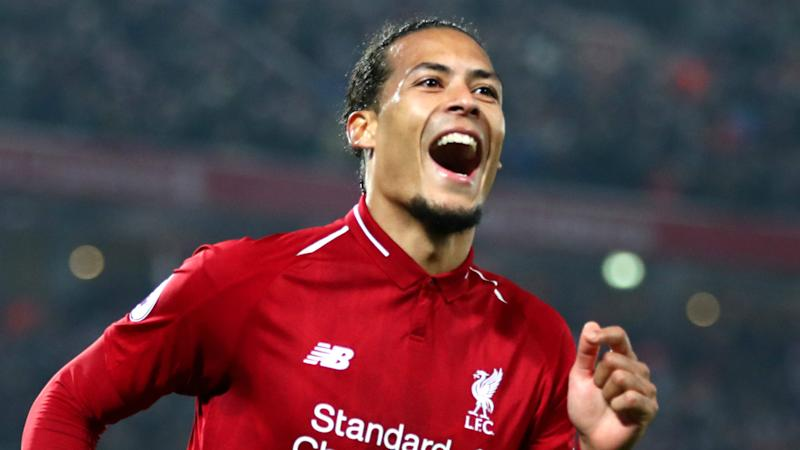 f182390e0 Van Dijk  Liverpool deserve to win trophies