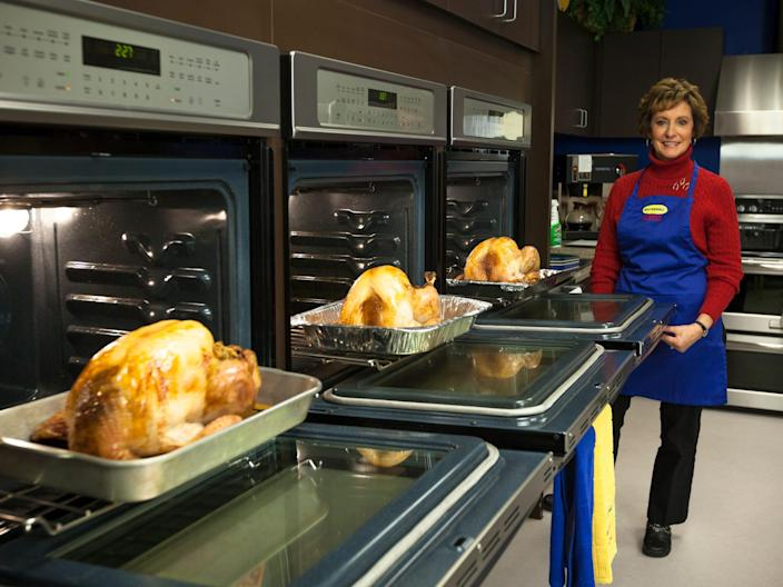 2013 Phyllis Kramer in the Butterball Test Kitchen