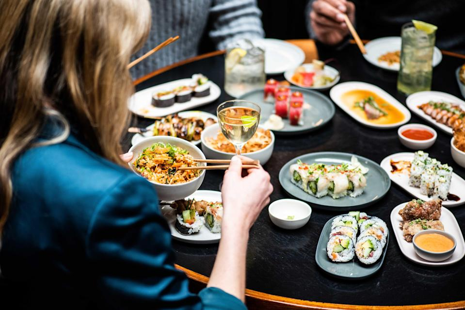<p>Tuck in: while the point of izakayas is drinking, small plates will be available at the Old Street opening</p> (Goya Comms Photography)