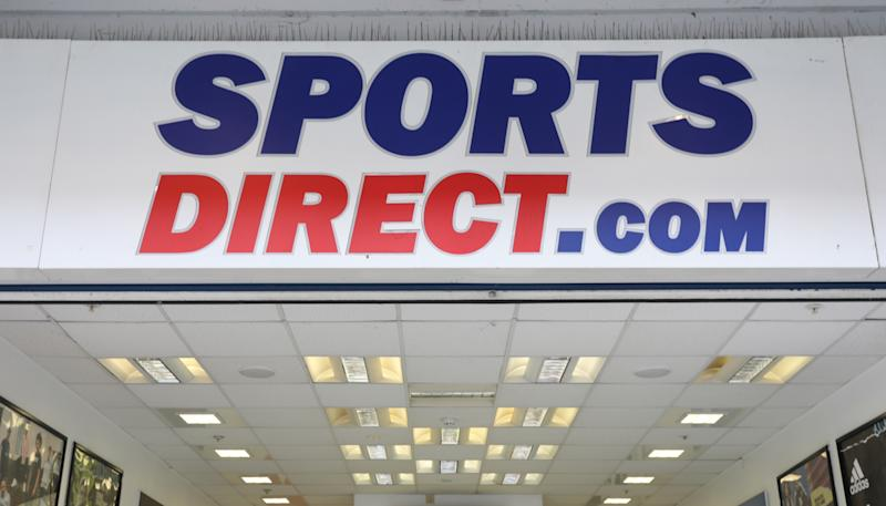A branch of Sports Direct in London. Issue dated: Thursday January 30, 2020. Photo credit should read: Isabel Infantes/EMPICS Entertainment.