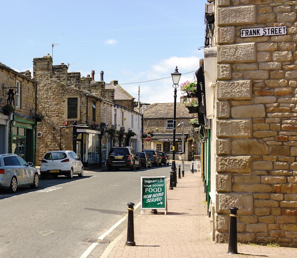 Barnoldswick town centre. (Myers Photography via Flickr/CC BY 2.0 UK)